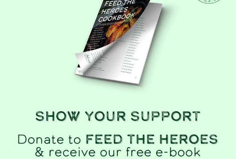Feed the heroes Social Post